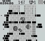 Tower Toppler Game Boy Getting frustrated on Tower 4