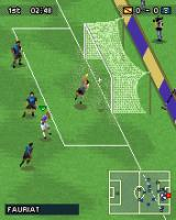 PES 2008: Pro Evolution Soccer J2ME Good heading, straight to the goal.