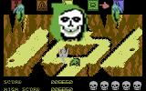 Dragonskulle Commodore 64 I died. My soul (the grey ghost) is leaving my body.