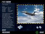 Top Gun: Fire at Will! DOS You can view information from a many different air planes.