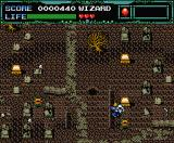 Undead Line MSX Cemetery level