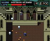 Undead Line MSX Ruins boss battle