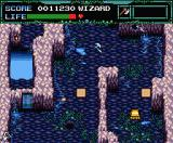 Undead Line MSX Cavern level