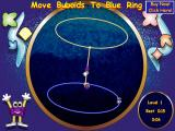 Buboids: The 3D Action Puzzle Game Windows The first level. You have to spin and turn the network so the Buboids stand in the blue ring.