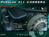 The Need for Speed: Special Edition DOS Mechanical data of the Porsche 911 Carrera