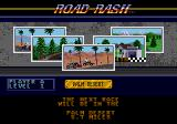 Road Rash Genesis Select one of these five level 1 racetracks