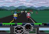 Road Rash Genesis Start of the Redwood Forest race