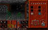 Abandoned Places 2 Amiga Using the spell meteor swarm against the enemies.