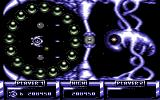IO Commodore 64 This enemy is protected by a ring of spheres, and some kind of shield.