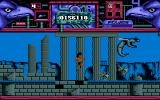 Hawkeye Amiga I'm in an ancient temple, jumping over a chasm.