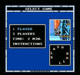 Speedball NES Choose your gaming preferences.
