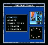 Speedball NES Choose which instructions you want to see.
