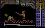 Highlander Commodore 64 Suddenly he chops my head off. Nice training Ramirez!