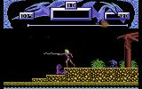 Vixen Commodore 64 I'm trying to give the purple enemy a whipping.