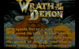 Wrath of the Demon DOS The story scroller