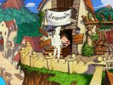 The Curse of Monkey Island Windows Guybrush in disguise... but not on purpose.