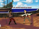 The Curse of Monkey Island Windows Back to fencing and insults we lost in the second part.