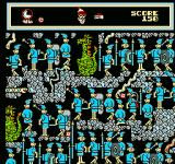 The Great Waldo Search NES About to click on the clock icon extending the timeclock.