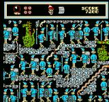 The Great Waldo Search NES After you complete a level your remaining clock is drained and gets converted into points.