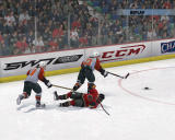 NHL 08 Windows Tripping gets you a penalty.
