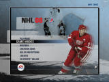 NHL 08 Windows Main menu