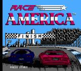 Race America NES Title screen