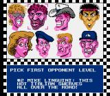 Race America NES Pick from a broad range of stereotypes to race against.