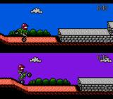 Stunt Kids NES Head-to-head action