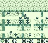 Boulder Dash Game Boy Use the select button to zoom out.