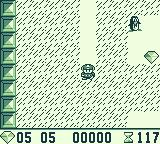 Boulder Dash Game Boy Second world gameplay