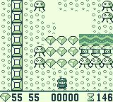Boulder Dash Game Boy Final world gameplay