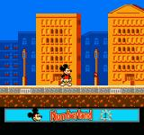 Mickey's Adventures in Numberland NES Starting out in Number City