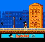 Mickey's Adventures in Numberland NES Try not to get hit by the birds