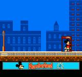 Mickey's Adventures in Numberland NES About to exit the level