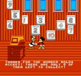 Mickey's Adventures in Numberland NES Between level intermissions
