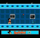 Mickey's Adventures in Numberland NES At the space center