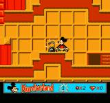 Mickey's Adventures in Numberland NES Mickey after losing all his life hearts