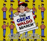 The Great Waldo Search SNES Title screen