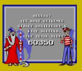 The Great Waldo Search SNES If you get all the scrolls ans find Waldo in each picture, you get this screen.