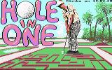 Hole-In-One Miniature Golf Commodore 64 Loading screen (USA)