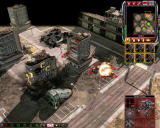 Command & Conquer 3: Kane's Wrath Windows Nod units attacking GDIs occupied building