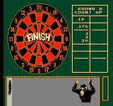 Magic Darts NES This game of count up is finished