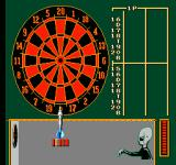 Magic Darts NES Playing Half It