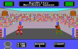 Star Rank Boxing II DOS The fight begins (Tandy/PCjr).