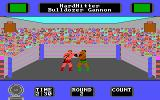 Star Rank Boxing II DOS Round 2, I hit my opponent (Tandy/PCjr).