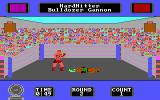 Star Rank Boxing II DOS We have a boxer down! (Tandy/PCjr)