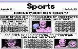 Star Rank Boxing II DOS Introduction sequence and credits (CGA)