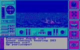 The Hunt for Red October DOS Periscope view; I have a surface contact! (CGA)