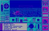 The Hunt for Red October DOS I've torpedoed a ship (CGA).