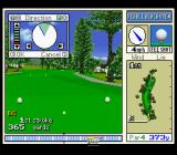 True Golf Classics: Pebble Beach Golf Links SNES Set your direction.